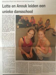 Krantenartikel in De Wegwijs